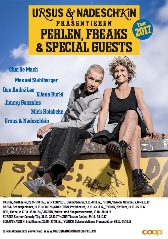 Ursus & Nadeschkin Perlen Freaks Special Guests 2017
